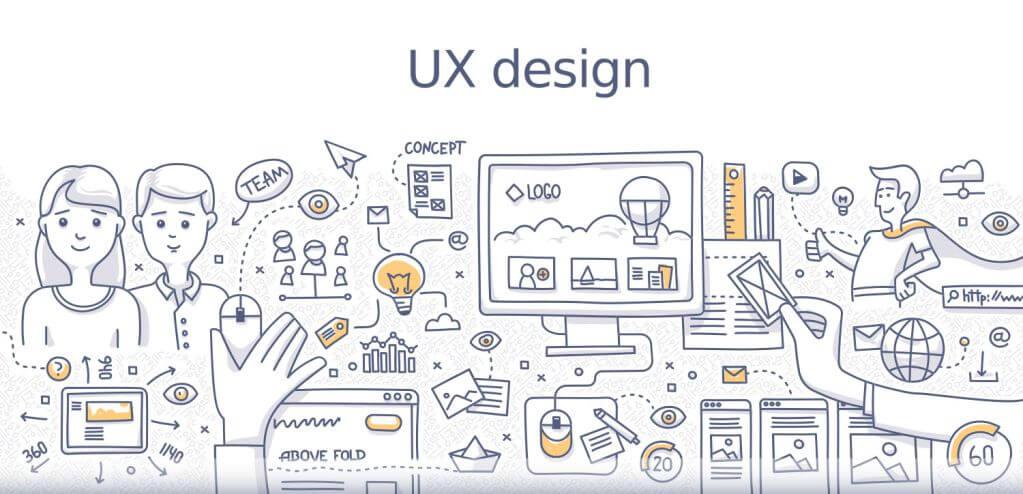 میزان اثربخشی UX و UI در طراحی سایت