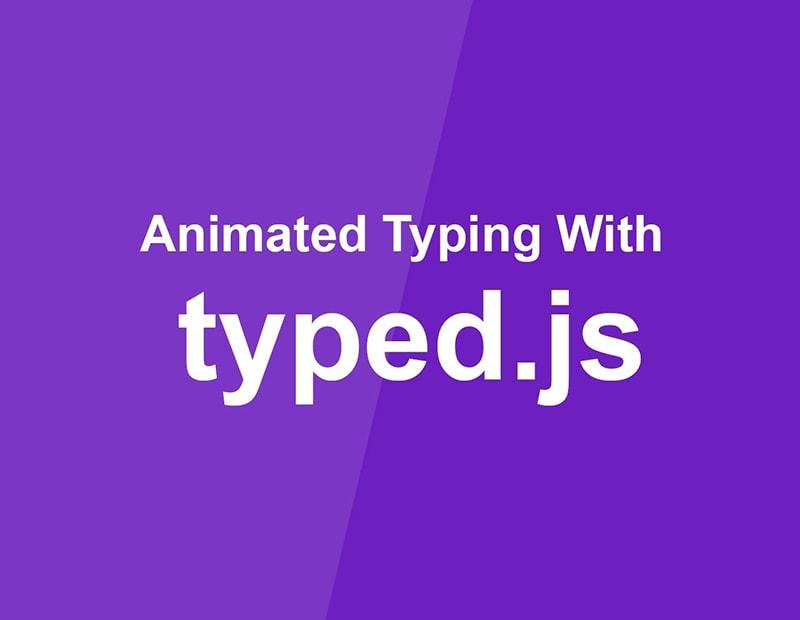 آموزش افکت تایپ کردن انیمیشنی در جاوا اسکریپت!