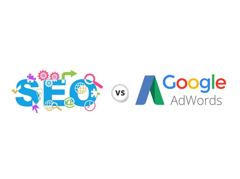 مقایسه مزایا و معایب سئو و تبلیغات در گوگل – اینفوگرافیک
