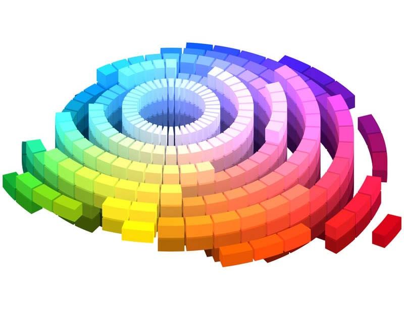 چرخه رنگ ها و استفاده از رنگ مناسب در وب
