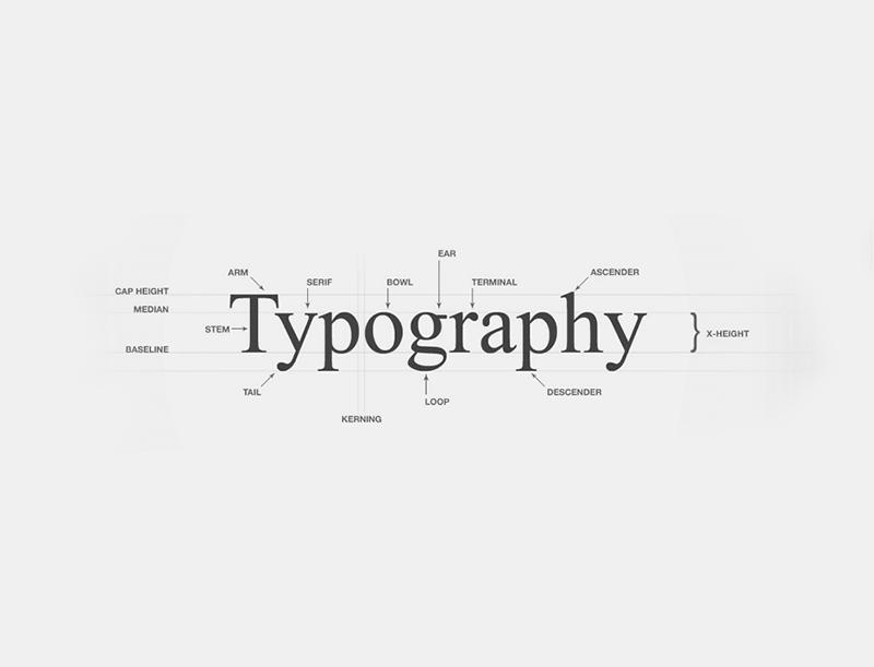 اهمیت تایپوگرافی در وب سایت