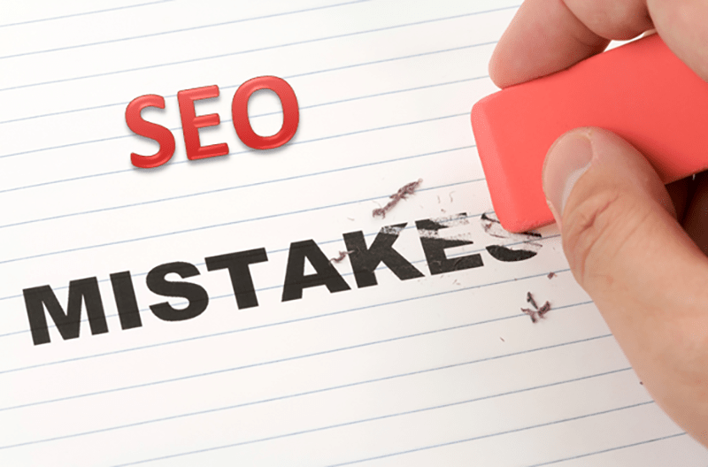 اشتباهات در بهینه سازی موتورهای جستجو