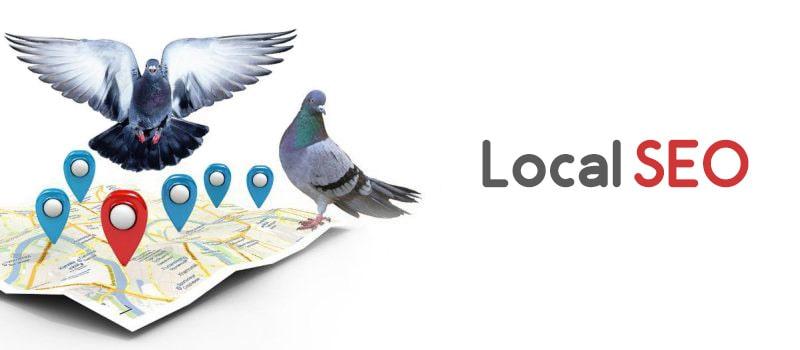 سئوی محلی در الگوریتم کبوتر