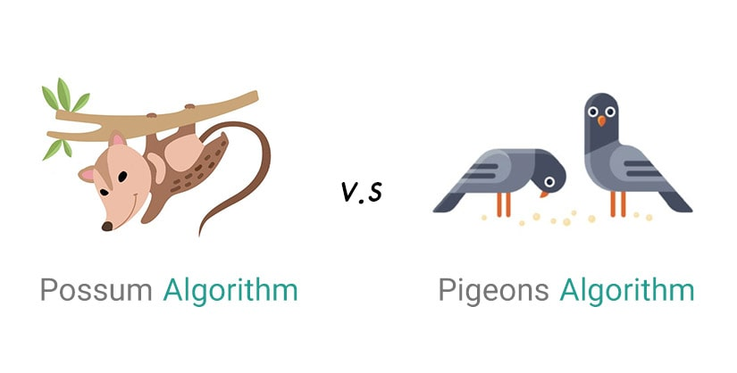 مقایسه الگوریتم های کبوتر و موش کور