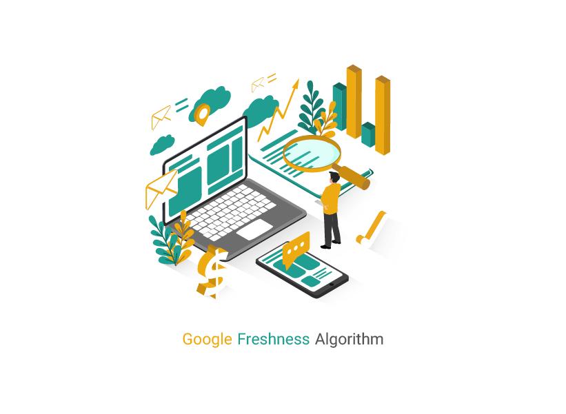 معرفی الگوریتم تازگی محتوا یا Freshness Algorithm