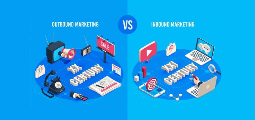 بازاریابی برون گرا و بازاریابی درون گرا