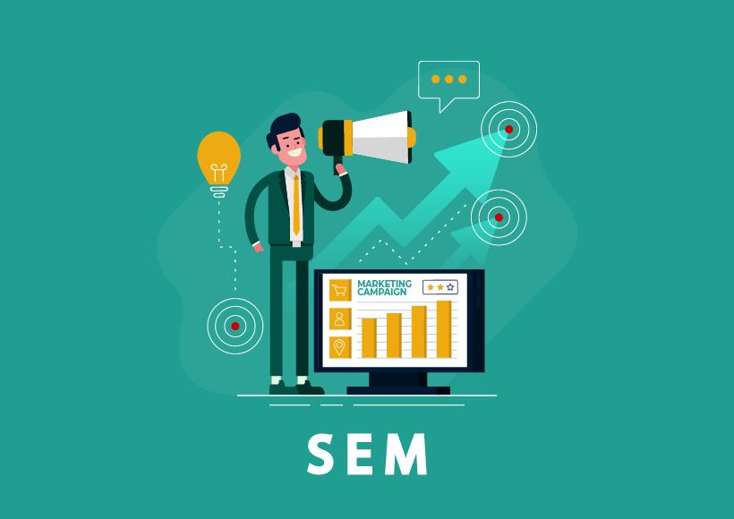 SEM - search engine marketing