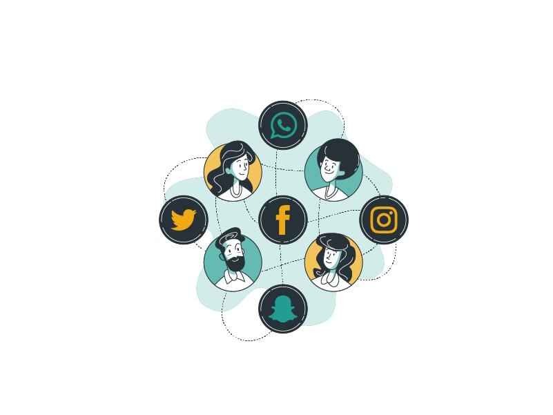 گسترش محتوا در شبکه های اجتماعی