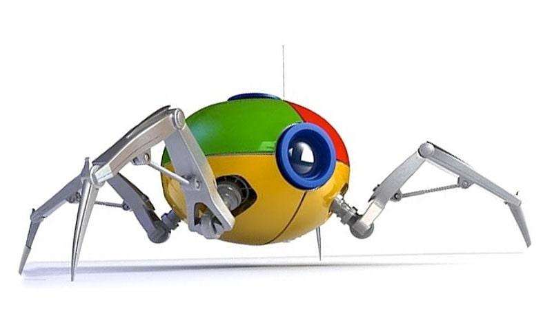 crawl کردن ربات های گوگل