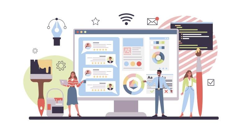 مزایای طراحی سایت برای کسب و کارها
