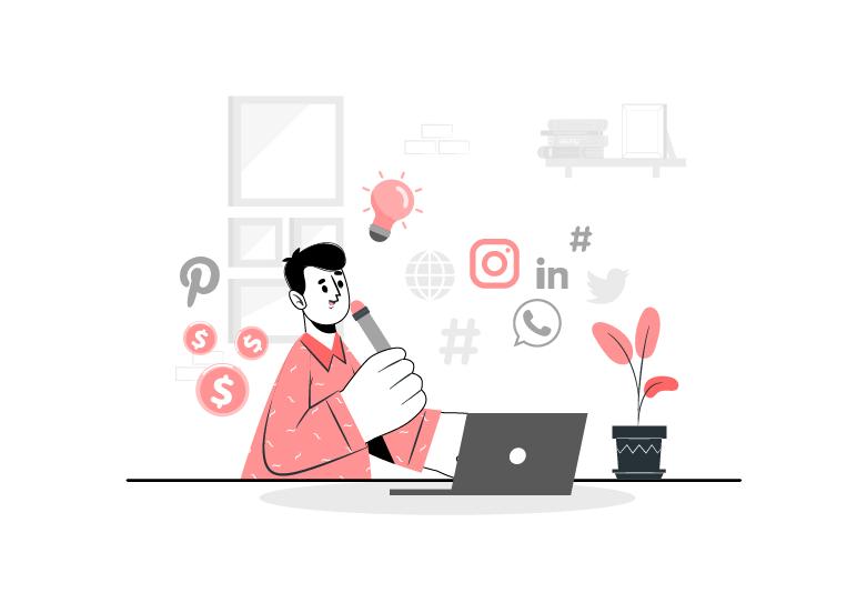 نقش شبکه های اجتماعی در افزایش ترافیک سایت